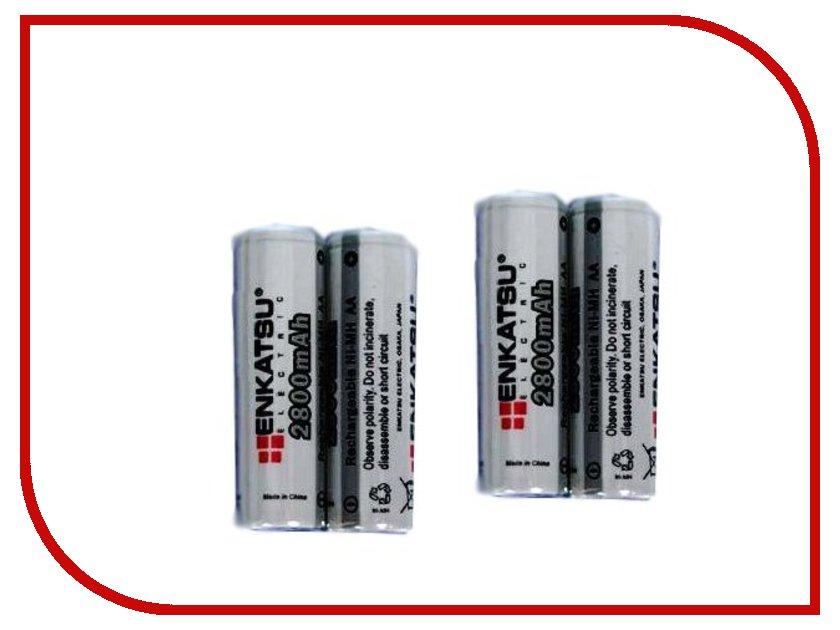 Аккумулятор AA - Enkatsu R06 2800 mAh Ni-MH BR-AA2800 (4 штуки)<br>
