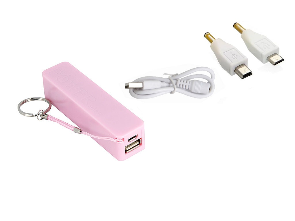 Внешний аккумулятор KS-is Power Bank KS-200 2200mAh Pink