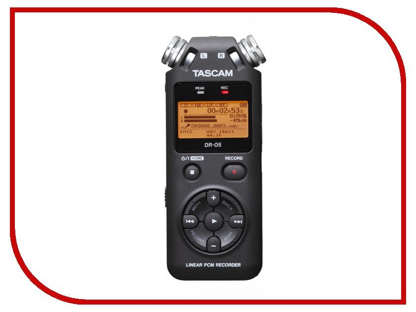Диктофон Tascam DR-05<br>