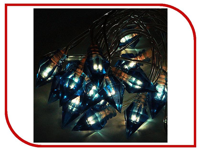 Гирлянда Гирлянда ламповая SnowHouse Льдинки BLD020W-BR