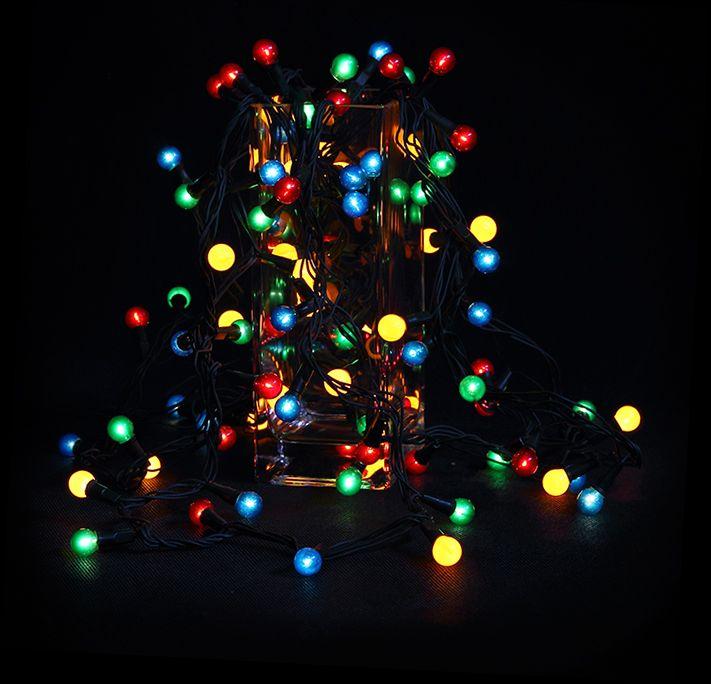 Гирлянда SnowHouse Жемчужные шарики ламповая IRP140/4M