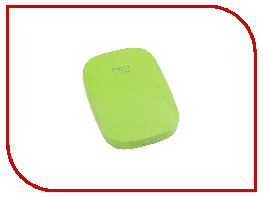 Аккумулятор Hoox Magic Stone 6000 mAh Green HO-MG6000-G
