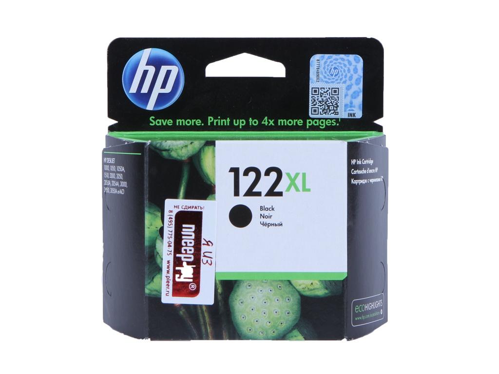 Картридж HP 122XL CH563HE Black для 1050 / 2050 / 2050s картридж hp 122 ch562he tri colour для 1050 2050 2050s
