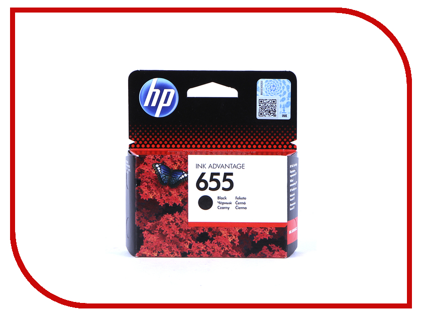 Картридж HP 655 Ink Advantage Black для 3525/5525/4525 CZ109AE<br>