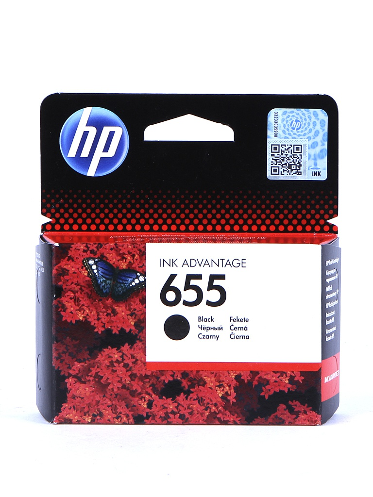 Картридж HP 655 Ink Advantage CZ109AE Black для 3525/5525/4525