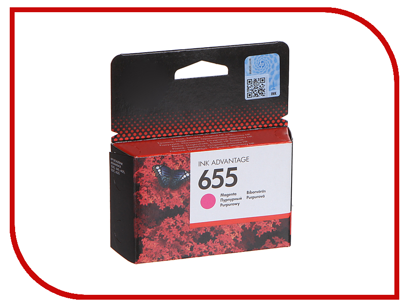 Картридж HP 655 Ink Advantage Magenta для 3525/5525/4525 CZ111AE<br>
