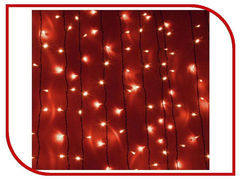 Гирлянда SnowHouse Световой занавес светодиодная OLDCL925-TR-E Red гирлянда snowhouse штора светодиодная oldcl625 tg e green