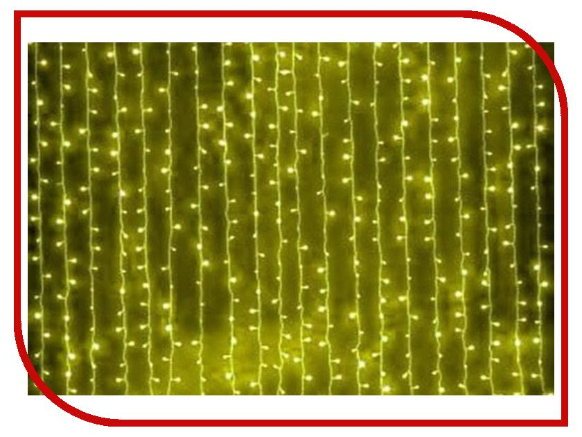 Гирлянда SnowHouse Штора светодиодная OLDCL925-TY-E Yellow гирлянда snowhouse сосульки rb oic100lse w ti4 white