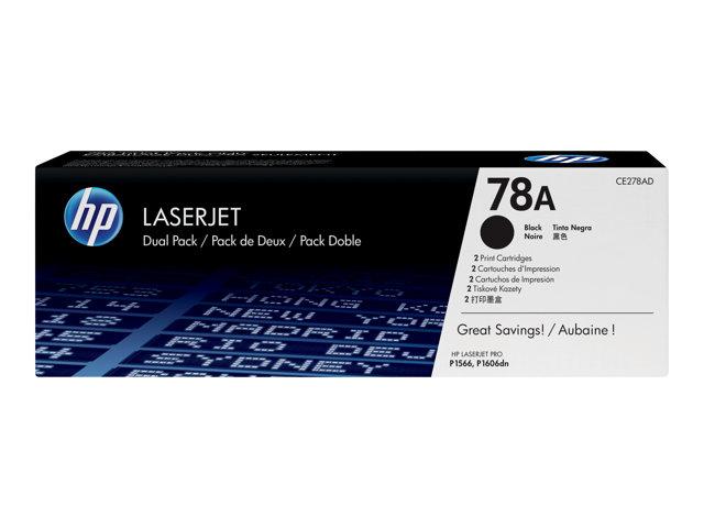Картридж HP 78A CE278A Black для LaserJet P1566 / P1606