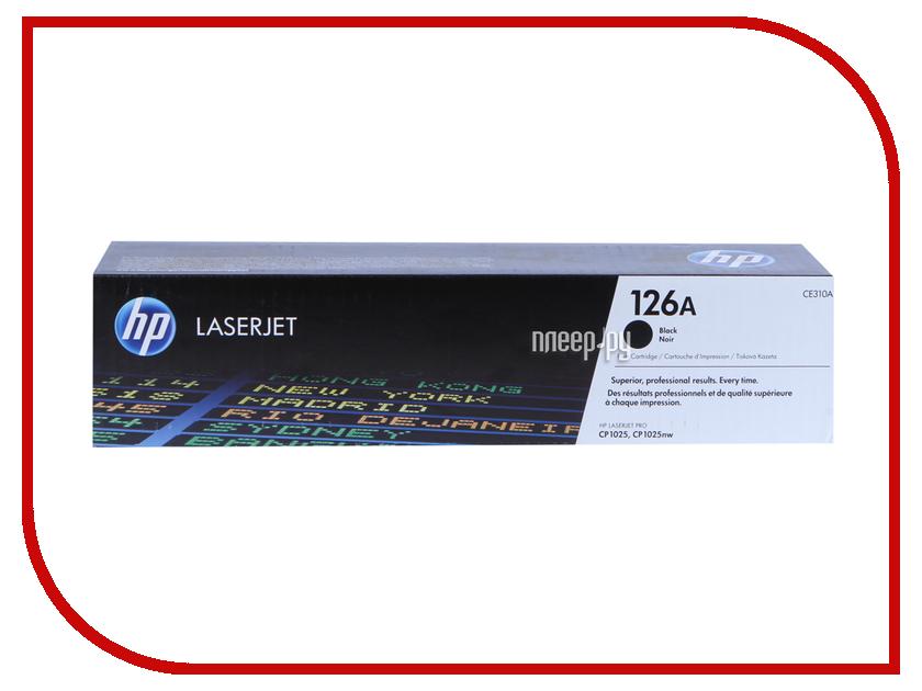 Картридж HP 126A CE310A Black для LaserJet CP1025 / CP1025nw барабан hp 126a ce314a для laserjet cp1025 cp1025nw ce314a