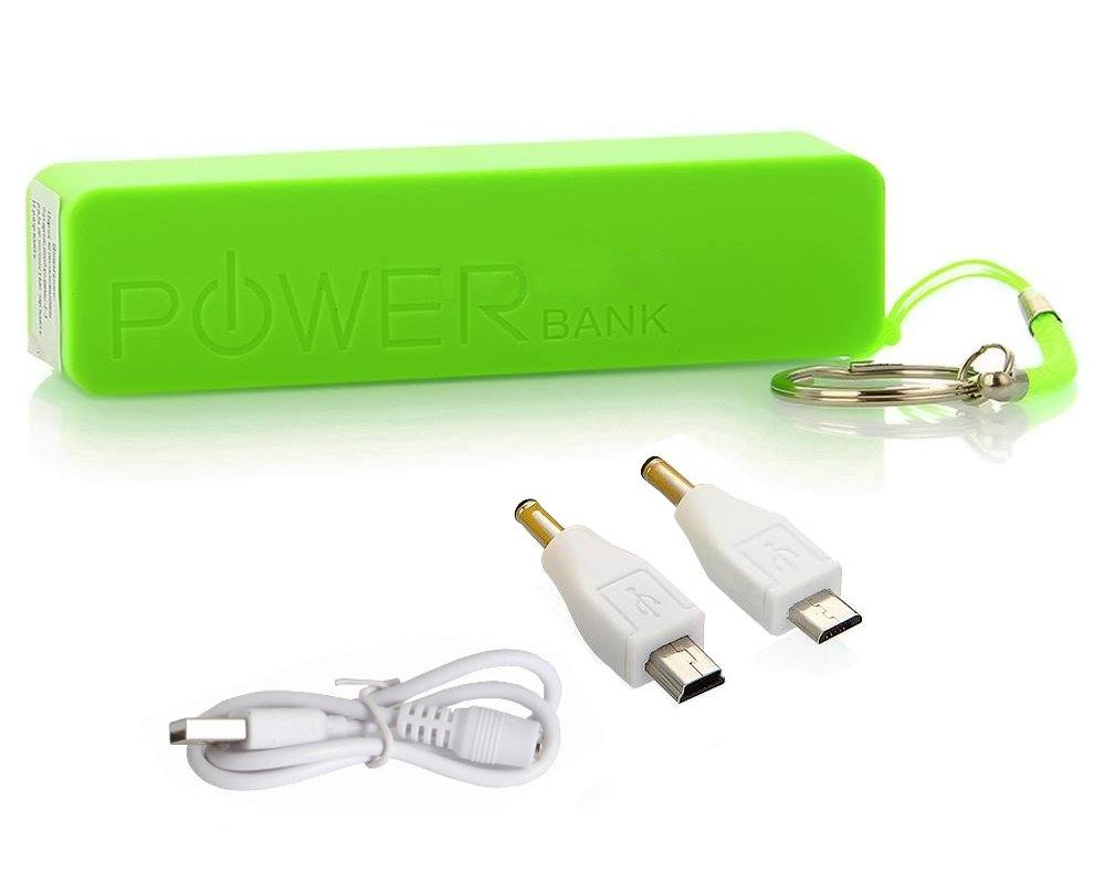Внешний аккумулятор KS-is Power Bank KS-200 2200mAh Green