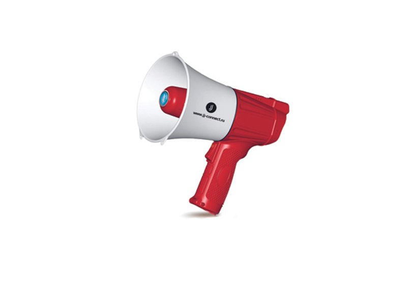 Мегафон JJ-Connect Megaphone M 100 Red-White<br>