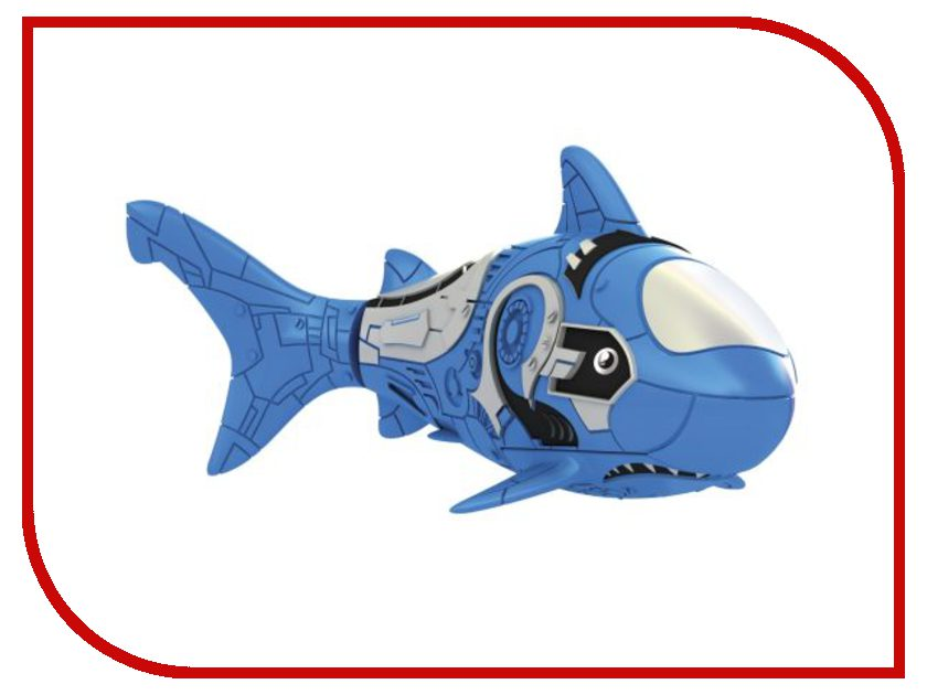 Игрушка Zuru Robofish Акула Blue 2501-6 zuru роборыбка клоун желтая robofish