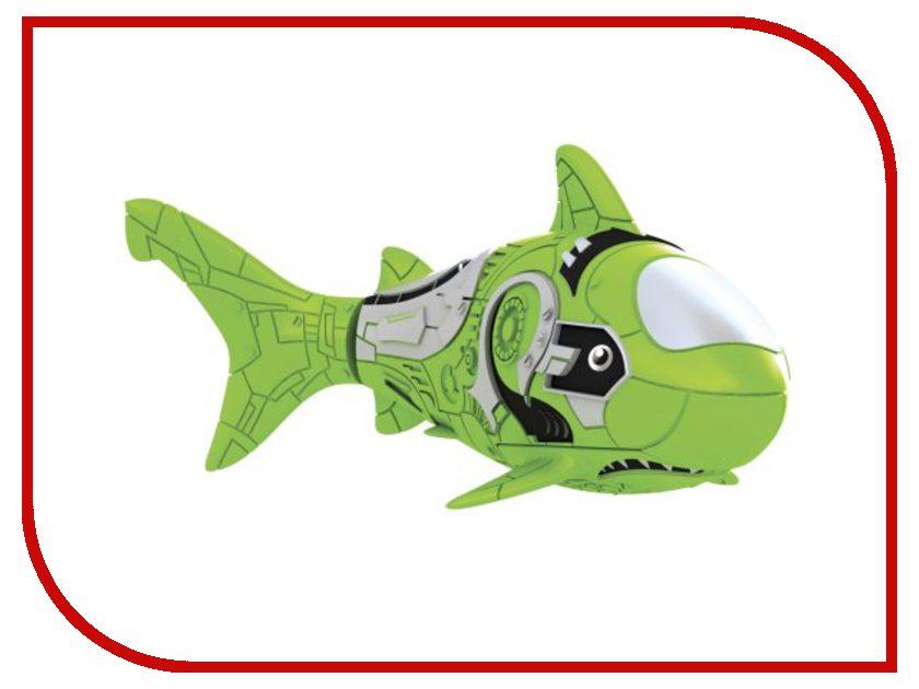 Игрушка Zuru Robofish Акула Green 2501-7 zuru роборыбка клоун желтая robofish