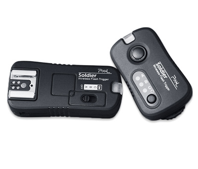 Радиосинхронизатор Pixel Soldier TF-371 RX Wireless Flash Trigger for Canon
