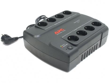 Источник бесперебойного питания APC Back-UPS ES 550VA 330W BE550G-RS ибп apc be700g rs power saving back ups es 8 outlet 700va 405w
