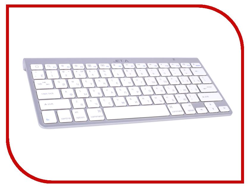 Клавиатура Jet.A SlimLine K9 BT Silver