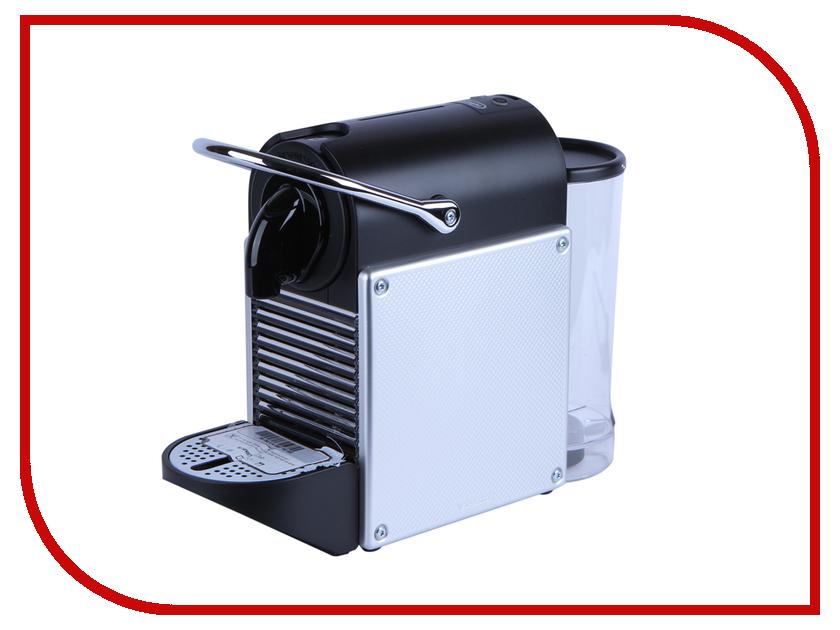 Кофемашина DeLonghi Nespresso EN 125.S Silver кофемашина delonghi ecam350 15 b 1450вт 15бар механ