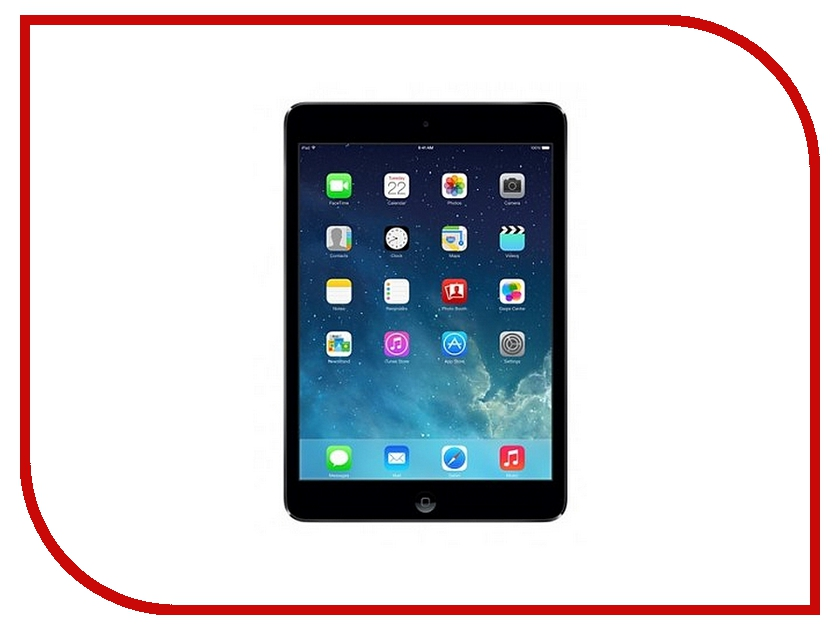 Планшет APPLE iPad mini 2 32Gb Wi-Fi + Cellular Space Grey ME820RU/A