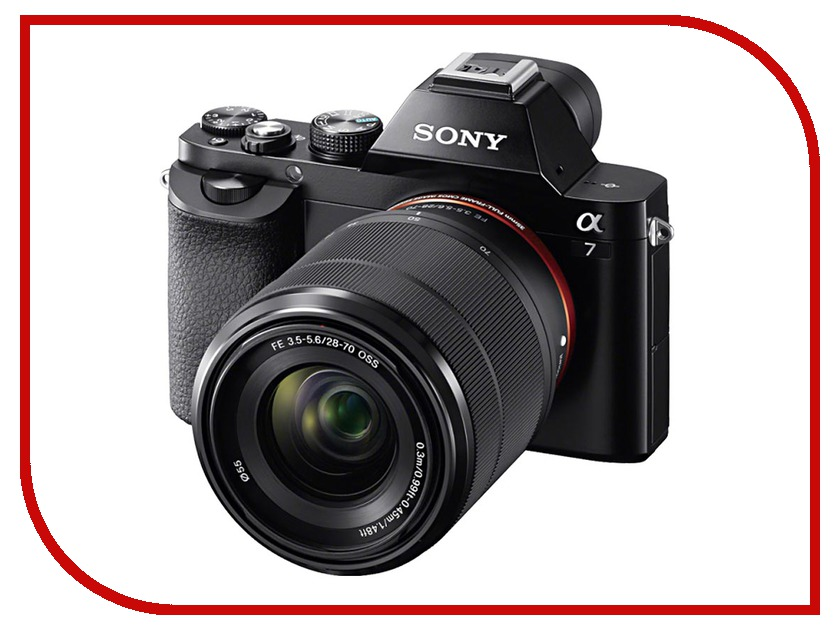 Фотоаппарат Sony Alpha A7 Kit FE 28-70 mm f/3.5-5.6 OSS fe commpact kit датчики