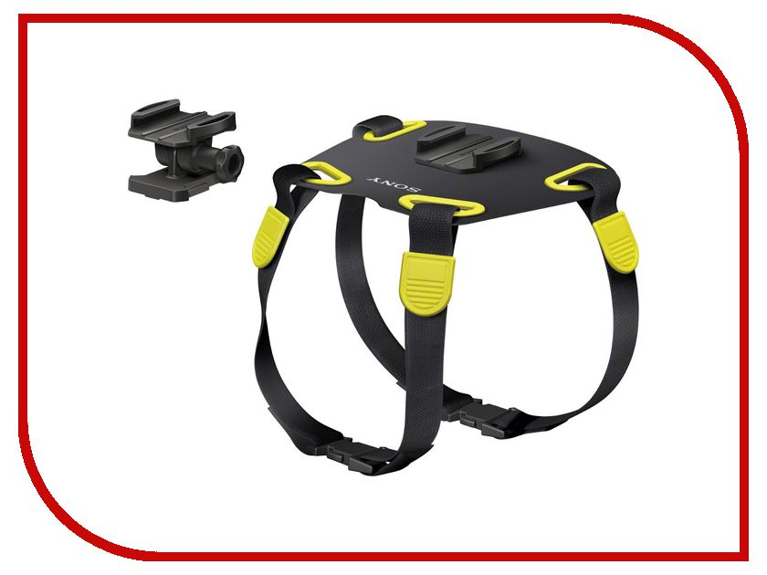 Аксессуар Крепление на собаку Sony AKA-DM1 Dog Mount для Action Cam аксессуар sony aka wm1 wrist mount band for action cam