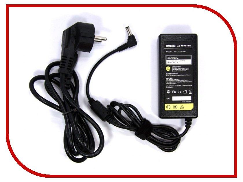 Блок питания Palmexx 20V 2A (5.5x2.5) Black для Lenovo IdeaPad S9/S10/S10-2/S10-3/S12/MSI U90/U100/U115/U120/Fujitsu-Siemens Amilo Mini UI 3520/M1010/M2010 series PA-050 аккумулятор tempo lpb s10 11 1v 4400mah for lenovo ideapad s9e s10e s10 1 s12 series