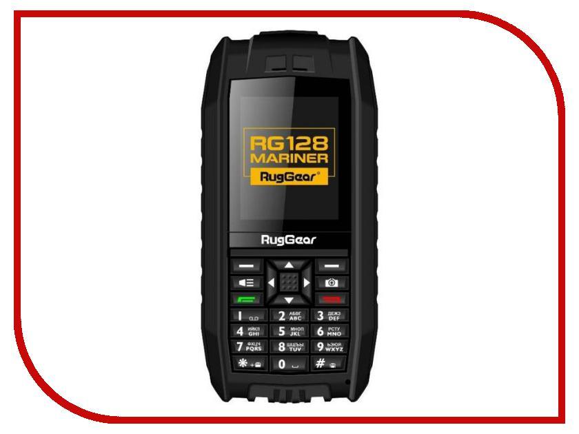 Сотовый телефон RugGear RG128 Mariner Black<br>