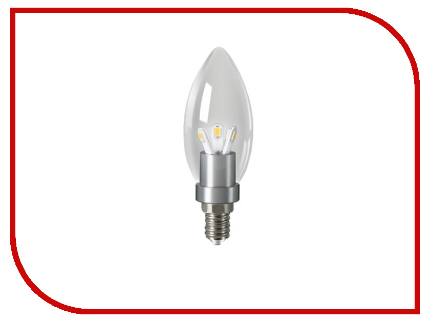 Лампочка Gauss LED 3W E14 4100K HA103201203<br>