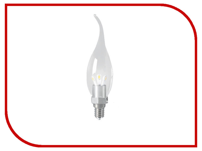 Лампочка Gauss LED 3W E14 2700K HA104201103<br>