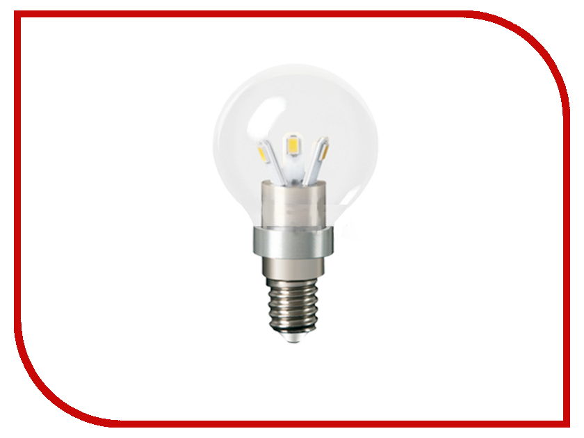 Лампочка Gauss LED 3W E14 4100K HA105201203<br>