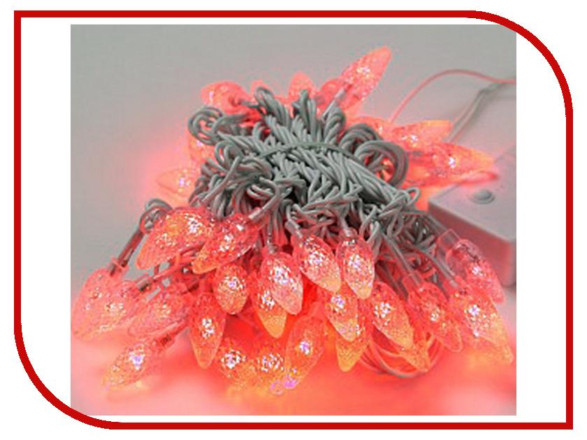 Гирлянда Gauss Свечки 50 светодиодов 5m AC220-240V PH717013703 Red<br>