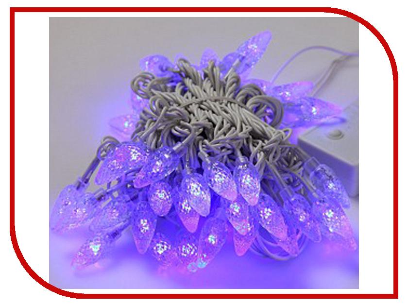 Гирлянда Gauss Свечки 50 светодиодов 5m AC220-240V PH717013503 Blue<br>