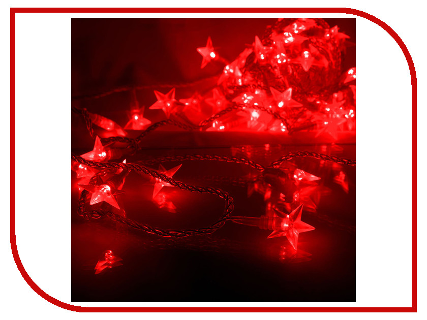 Гирлянда Gauss Цветы вишни 50 светодиодов 5m AC220-240V PH720013703 Red<br>