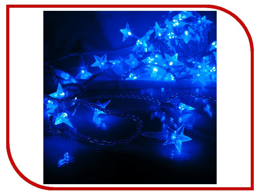 Гирлянда Gauss Цветы вишни 50 светодиодов 5m AC220-240V PH720013503 Blue<br>