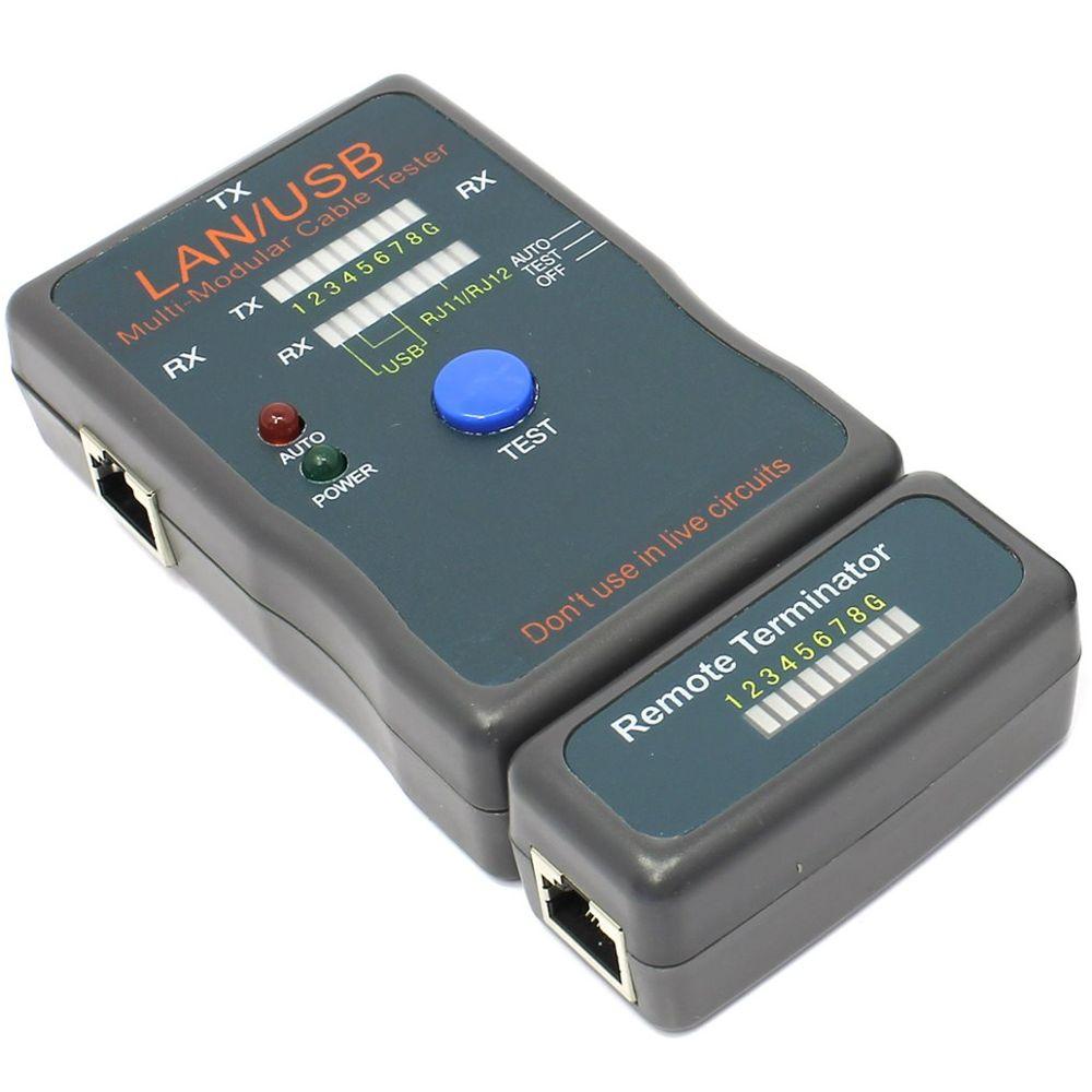 Тестер Тестер кабелей 5bites LY-CT011 тестер кабеля 5bites ly ct007 для utp stp rj45 bnc rj11 12