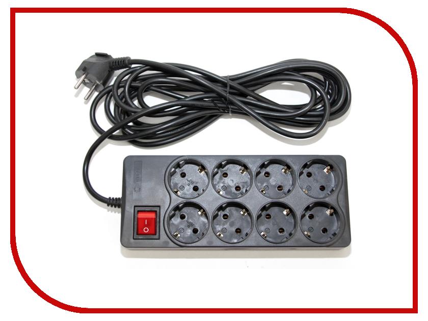 Купить Сетевой фильтр 5bites 8 Sockets 3m SP8-B-30