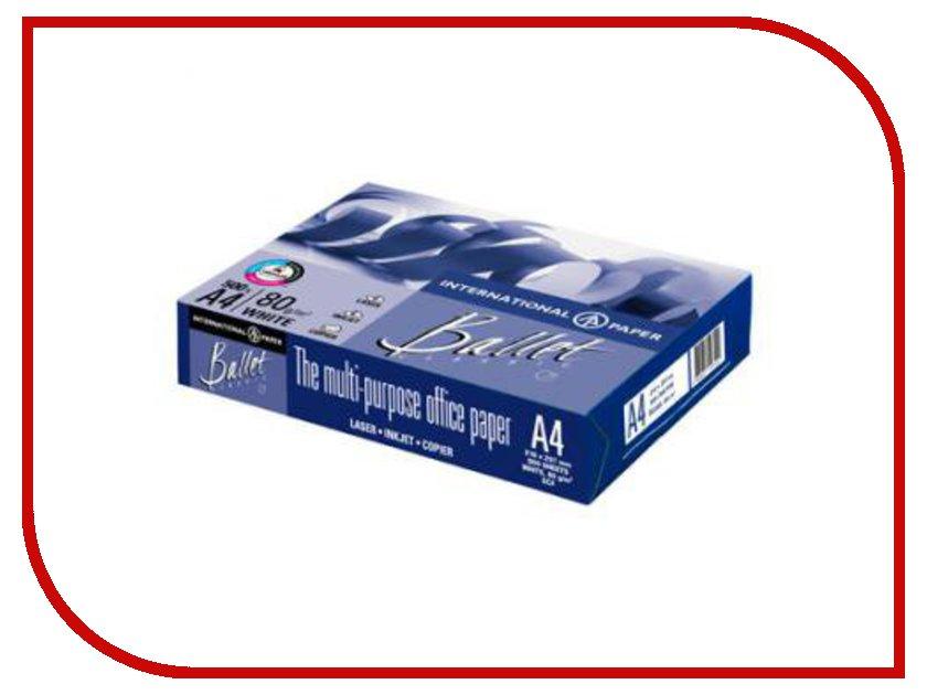 Бумага Ballet Classic A4 80г/м2 500 листов 153CIE бумага kym lux classic a4 80g m2 500 листов