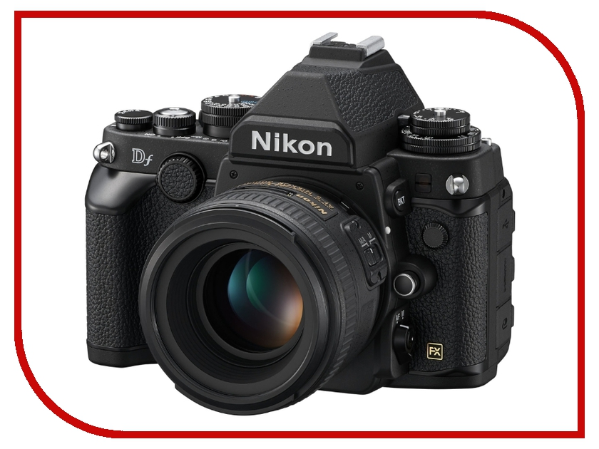 Фотоаппарат Nikon Df Kit AF-S 50 mm f/1.8 G Black