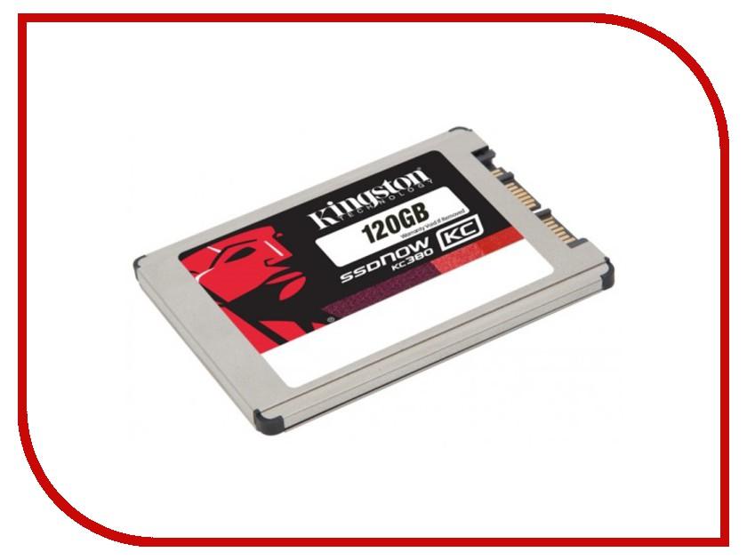 Жесткий диск 120Gb - Kingston SSDNow KC380 SKC380S3/120G<br>