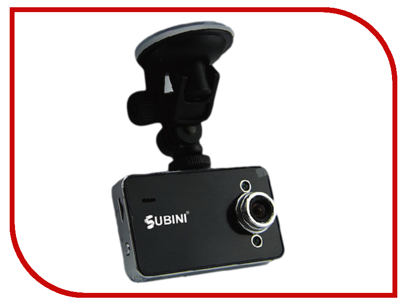 Видеорегистратор Subini DVR-K6000L босоножки dino ricci босоножки на каблуке