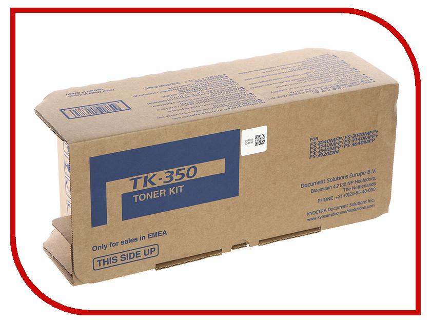 все цены на Картридж Kyocera TK-350 для FS-3920DN/3040MFP/3040MFP+/3140MFP/3140MFP+/3540MFP/3640MFP онлайн