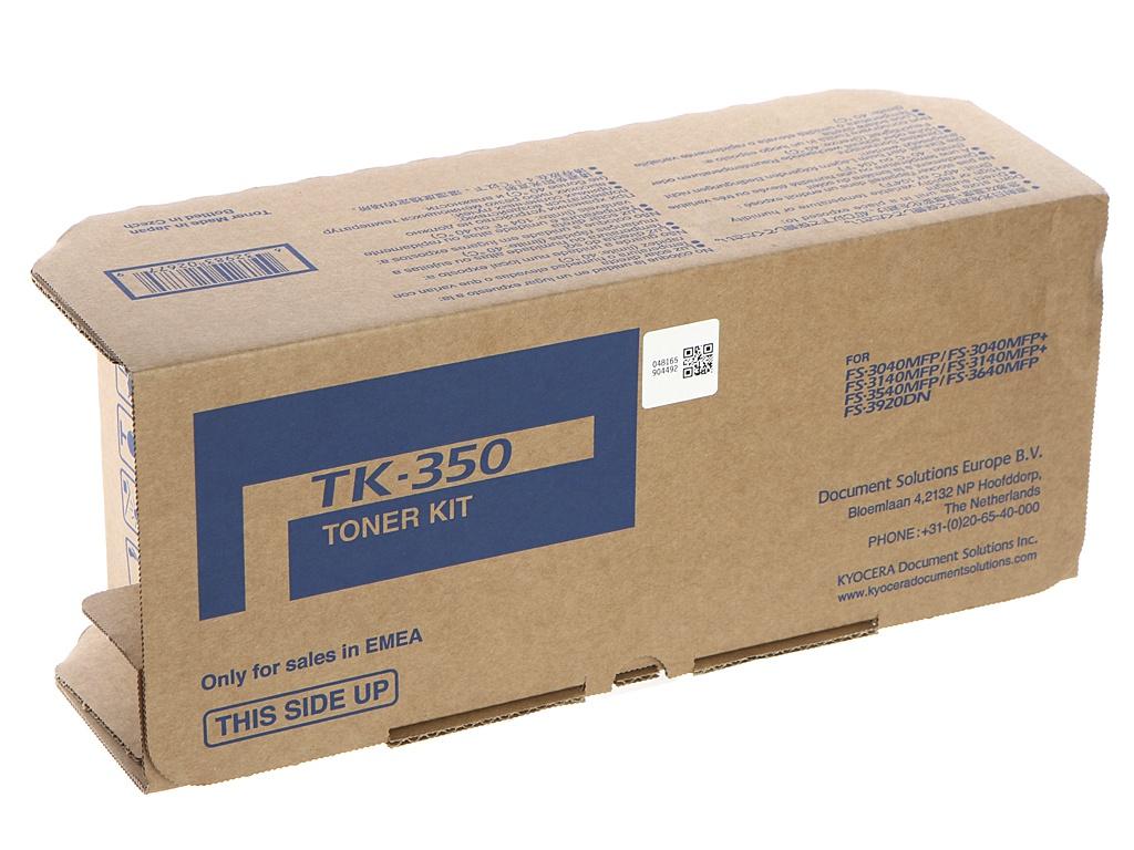 Картридж Kyocera TK-350 для FS-3920DN/3040MFP/3040MFP+/3140MFP/3140MFP+/3540MFP/3640MFP new original kyocera 302j025170 guide exit up for fs 2020d 3925dn 4020dn 3040mfp 3140mfp