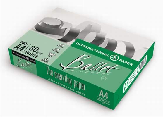 Бумага Ballet Universal A4 80г/м2 500 листов 146CIE