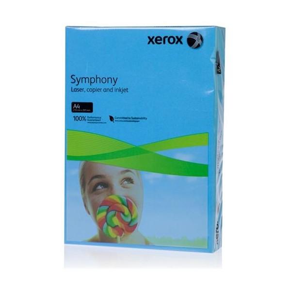 Бумага XEROX Symphony 003R94120 A4 80г/м2 500 листов Aqua Blue