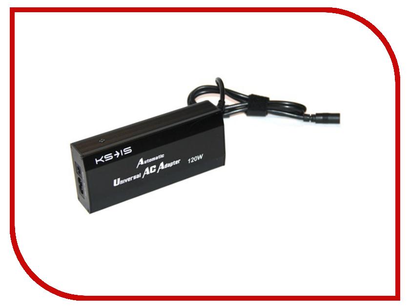 Блок питания KS-is Maxter KS-209 120Вт сетевое + автомобильное, универсальное<br>