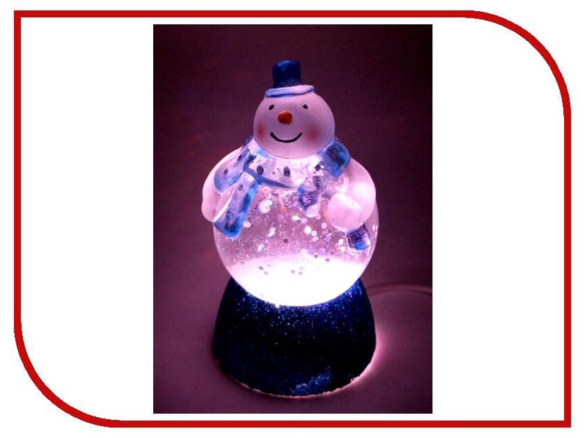 Новогодний сувенир Снеговичок-толстячок Orient NY6010 Blue<br>