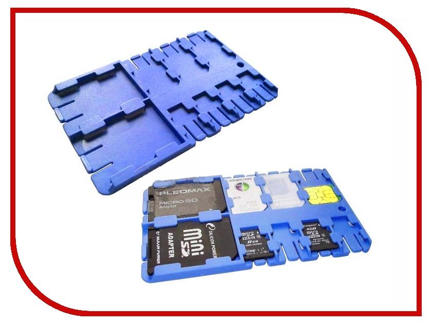 Футляр REFI Holder SD / microSD / SIM Blue