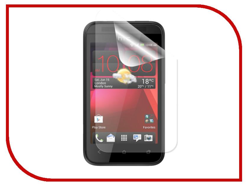 Аксессуар Защитная пленка HTC Desire 200 LuxCase суперпрозрачная 80357