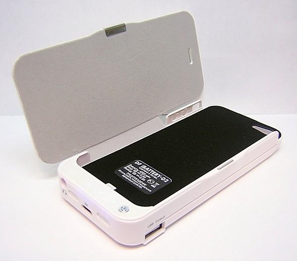 ��������� DF iBattery-02 ��� iPhone 5 4200 mAh White