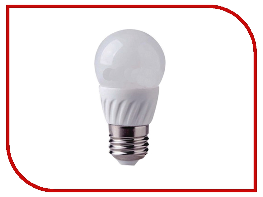 Лампочка LUNA LED P45 6W 3000K E27 60256<br>